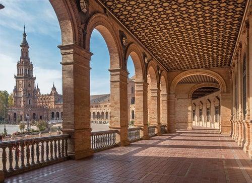 Galería de la Plaza de España de Sevilla