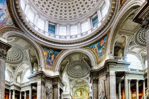 cúpula del Panteón de París