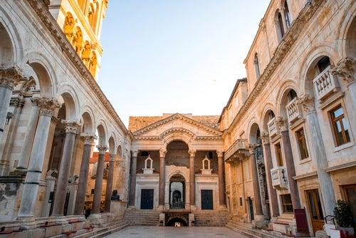 Palacio de Diocleciano en Split