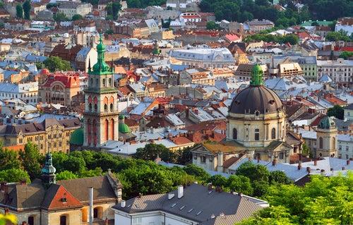Lviv en Ucrania