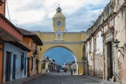 Arco de Santa Catalina en Antigua