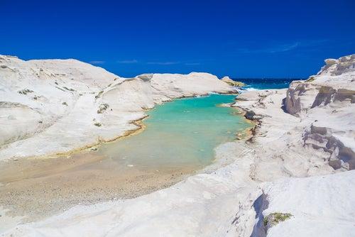 Sarakiniko en islas griegas