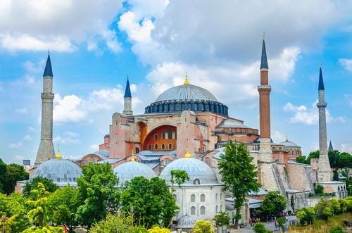 Santa Sofía en Estambul, una maravilla arquitectónica