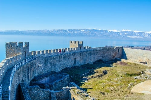 Fortaleza Samuel en Ohrid