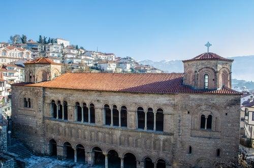 Catedral de Santa Sofía en Ohrid