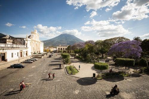 Parque Central de Antigua