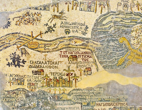 Mosaico en Mádaba