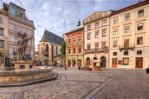 Lviv, una de las ciudades más bonitas de Ucrania