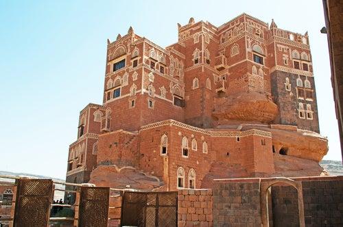 Palacio Dar-alHajar Yemen