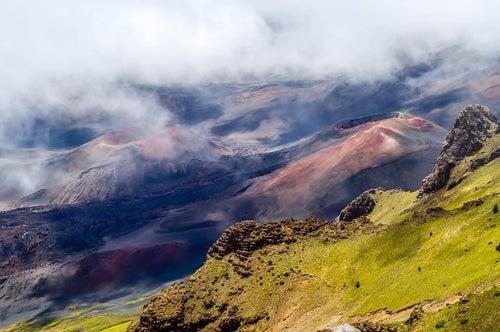 Cráter del Haleakala en Maui