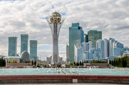 Baiterek Tower en Astana