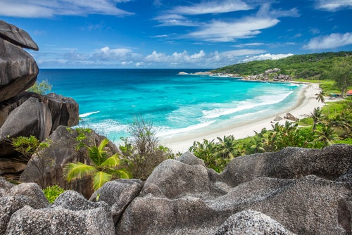 Grand Anse en La Digue