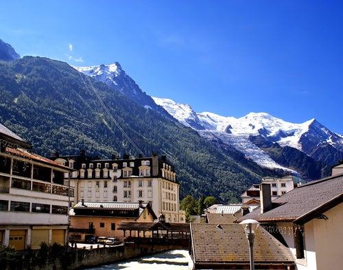 Chamonix en los Alpes