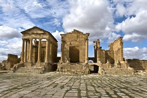 Ruta por los restos arqueológicos de Túnez