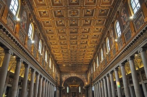 Basílica de Santa María la Mayor en Roma