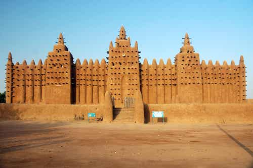 Djenné y su maravillosa mezquita de barro