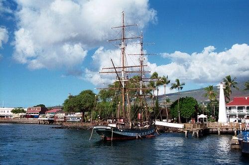 Puerto de Lahaina en Maui