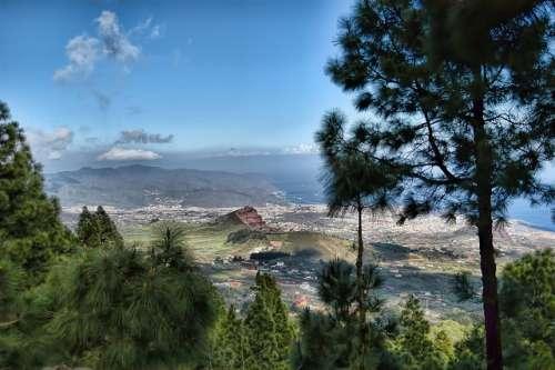 Las Lagunetas en Tenerife