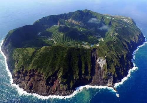 Volcán Aogashima, Japón