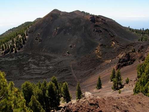 Lavas del Duraznero en La Palma