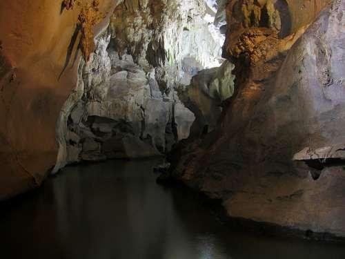 cueva del Indio en el Valle de Viñales
