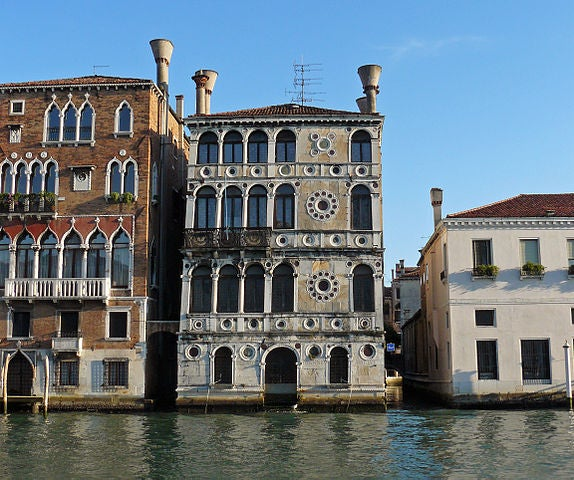 Palazzo Dario en Venecia