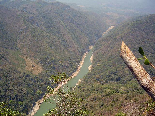 Cañón Usumacinta en Tabasco