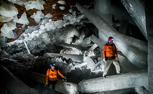 Naica Crystal Cave, Mexico