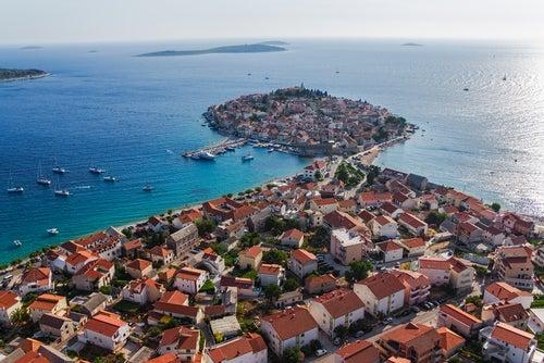 Primosten en Croacia