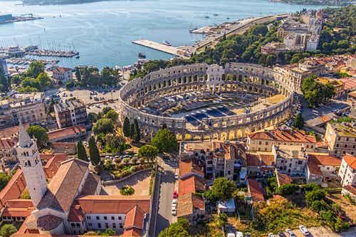 Pula en Croacia, una ciudad fascinante