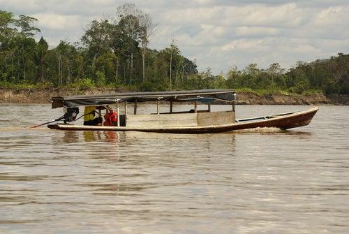 Río Amazonas en Perú