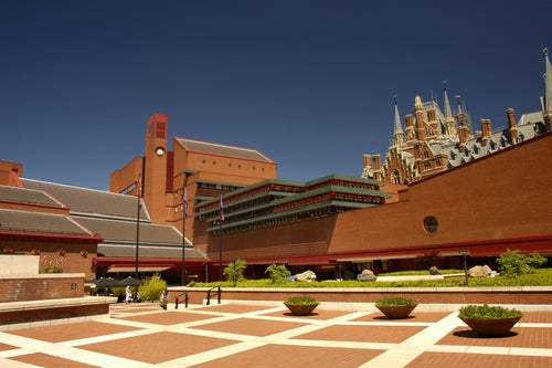 British Library en Londres