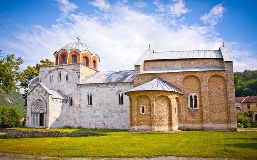 Monasterio de Studenica en Serbia