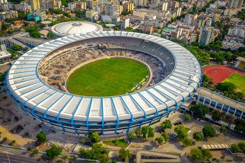 Estadio de Maracaná en Río de Janeiro
