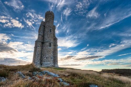 Torre Milner en la Isla de Man