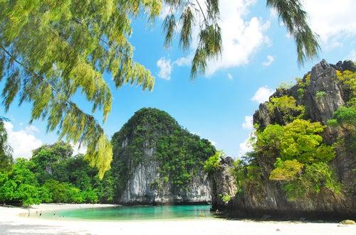 Isla Hong en Krabi