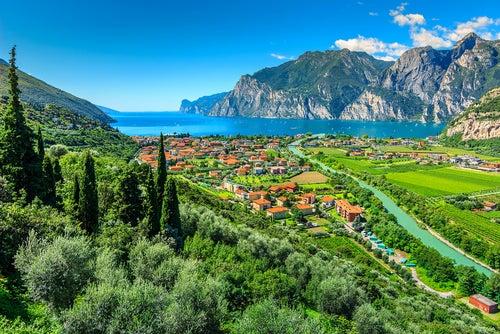 Lago di Garda en Italia