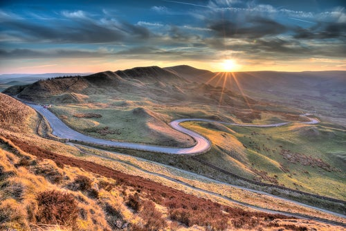 Peak District en Inglaterra