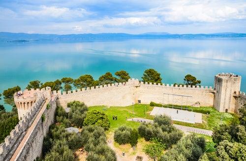 Lago Trasimeno en Italia