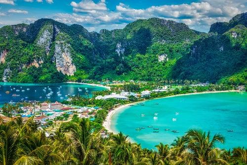Krabi en Tailandia