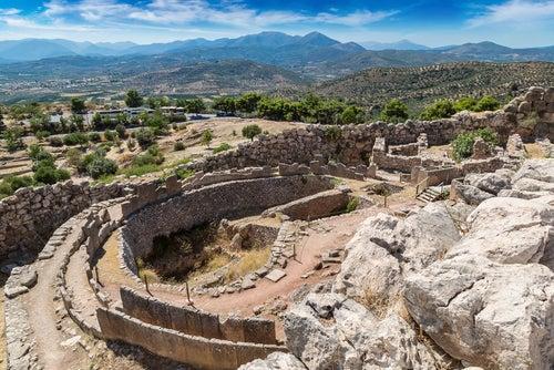 Micenas en el Peloponeso