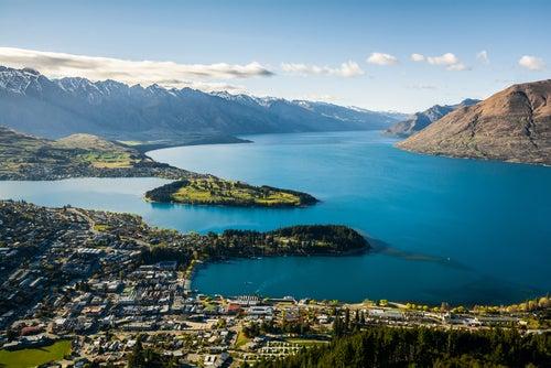 Queenstown en Nueva Zelanda