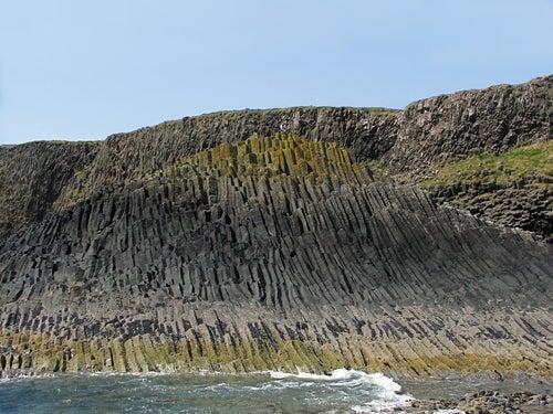 Isla Staffa en Escocia
