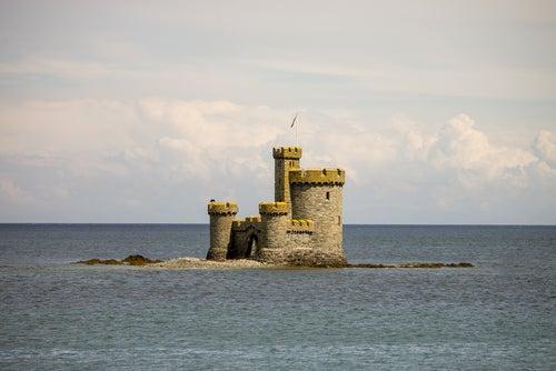 Torre del Refugio en la Isla de Man