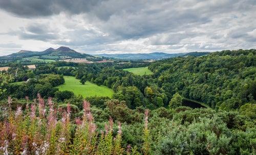 Scott's View en Escocia