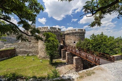 Fortaleza de Belgrado en Serbia