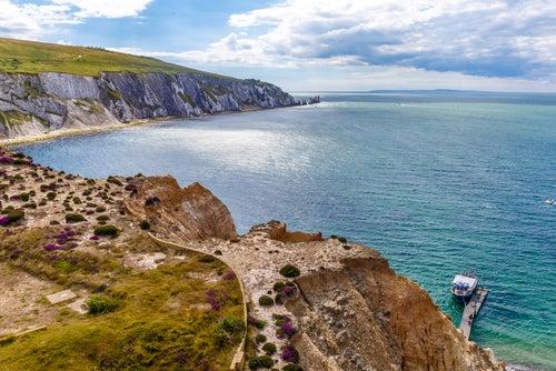 Isla de Wight en Inglaterra