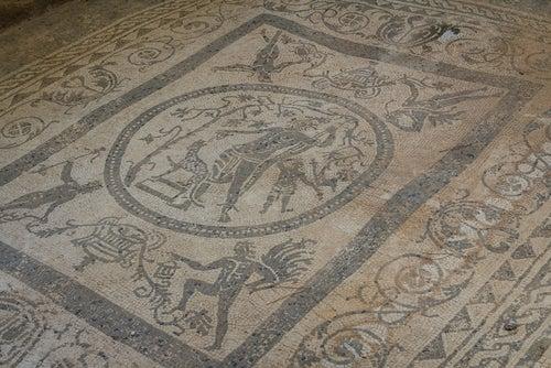Mosaico en Tíndaris