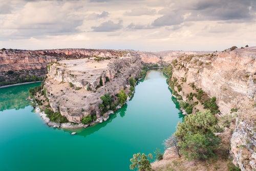 Las Hoces del Río Duratón, un paisaje espectacular en Segovia