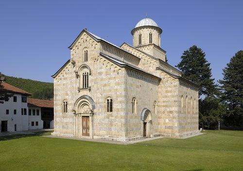 Monasterio Visoki Decani en Serbia